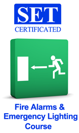 Fire Alarms & Emergency Lighting Courses